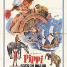 Pippi Goes On Board (1969) DVD