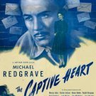 The Captive Heart (1946) - Michael Redgrave DVD