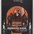 Premature Burial (1962) - Ray Milland DVD