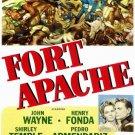 Fort Apache (1948) - John Wayne Color Version DVD