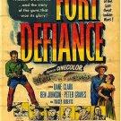 Fort Defiance (1951) - Peter Graves DVD