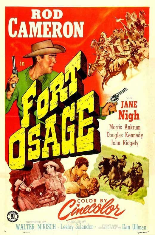 Fort Osage (1952) - Rod Cameron DVD