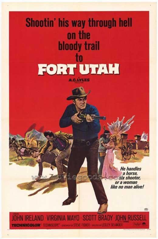Fort Utah (1967) - John Ireland DVD