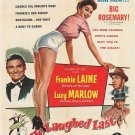 He Laughed Last (1956) - Frankie Laine DVD