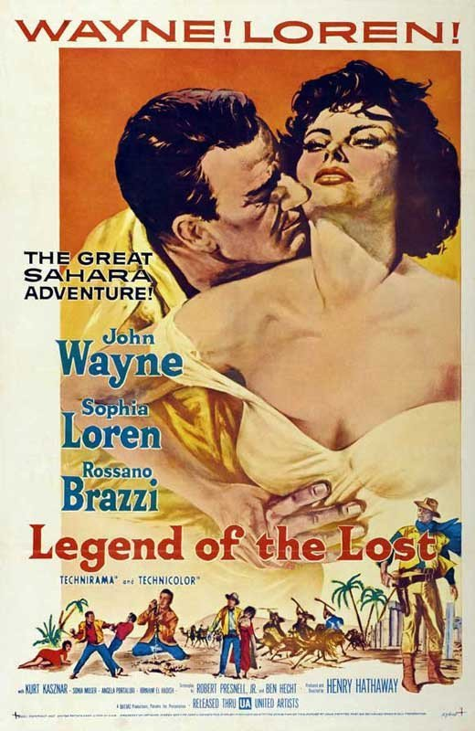 Legend Of The Lost (1957) - John Wayne DVD