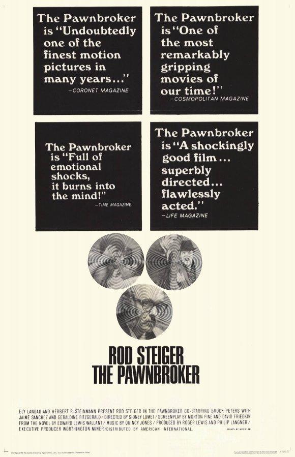 The Pawnbroker (1964) - Rod Steiger DVD