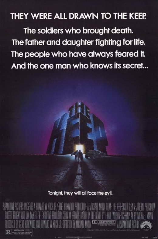 The Keep (1983) - Scott Glenn DVD