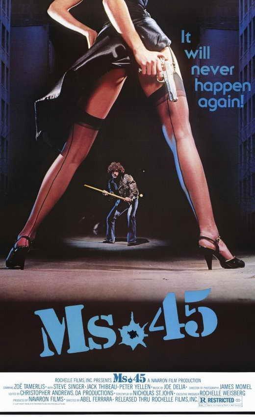 Ms. 45 (1981) - Abel Ferrara DVD