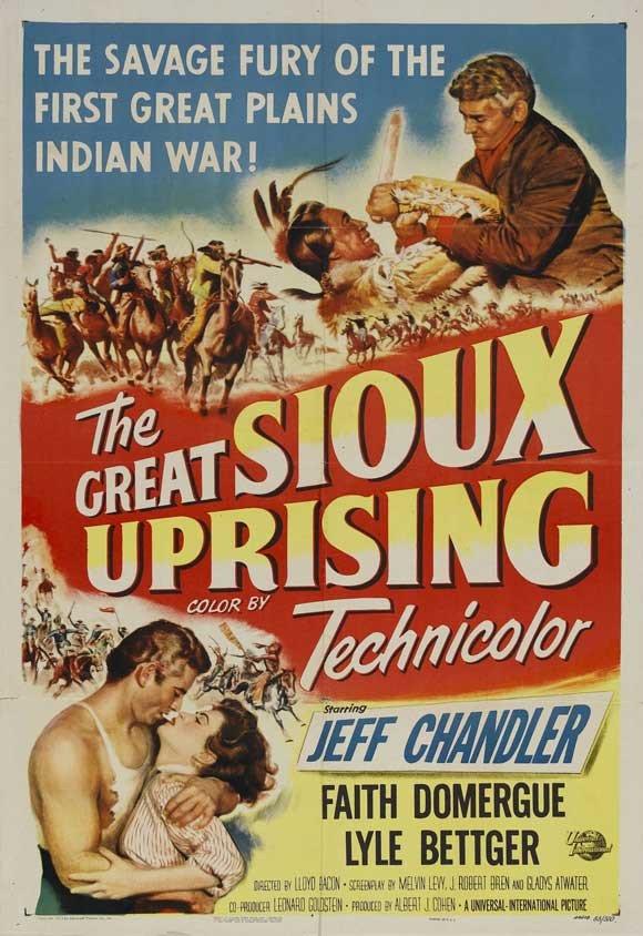 Great Sioux Uprising (1953) - Jeff Chandler DVD