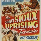 Great Sioux Uprising (1953) - Jeff Chandler DVD