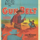 Gun Belt (1953) - George Montgomery DVD