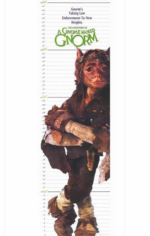 Upworld AKA A Gnome Named Gnorm (1990) - Stan Winston  DVD