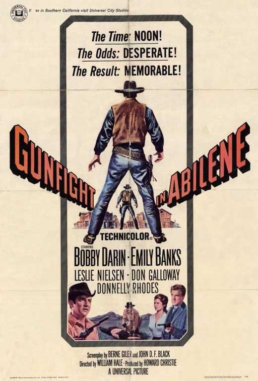 Gunfight In Abilene (1967) - Bobby Darin DVD