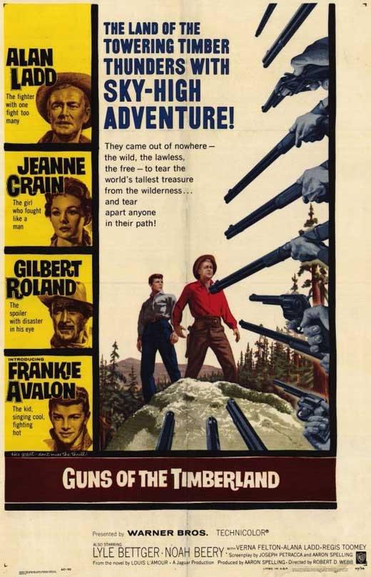 Guns Of The Timberland (1960) - Alan Ladd DVD