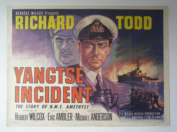 Yangtse Incident (1957) - Richard Todd DVD