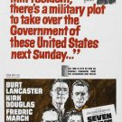 Seven Days In May (1964) - Burt Lancaster DVD