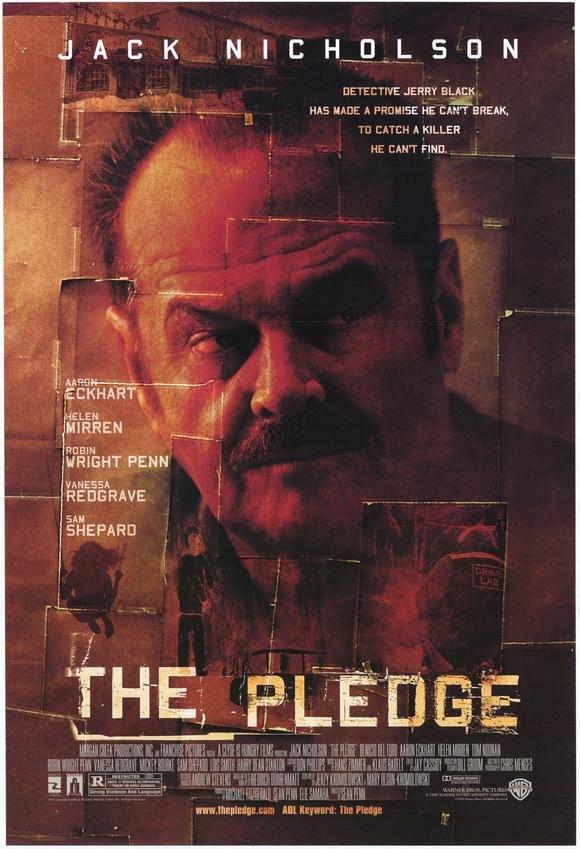 The Pledge (2001) - Jack Nicholson DVD