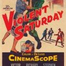 Violent Saturday (1955) - Richard Egan DVD