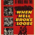 When Hell Broke Loose (1958) - Charles Bronson DVD