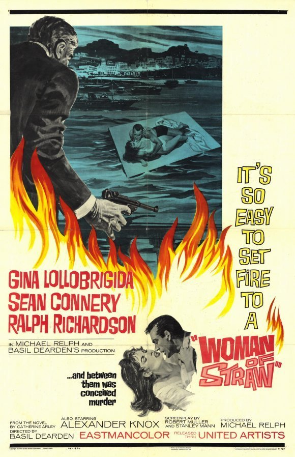 Woman Of Straw (1964) - Sean Connery DVD