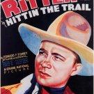 Hittin´ The Trail (1937) - Tex Ritter DVD