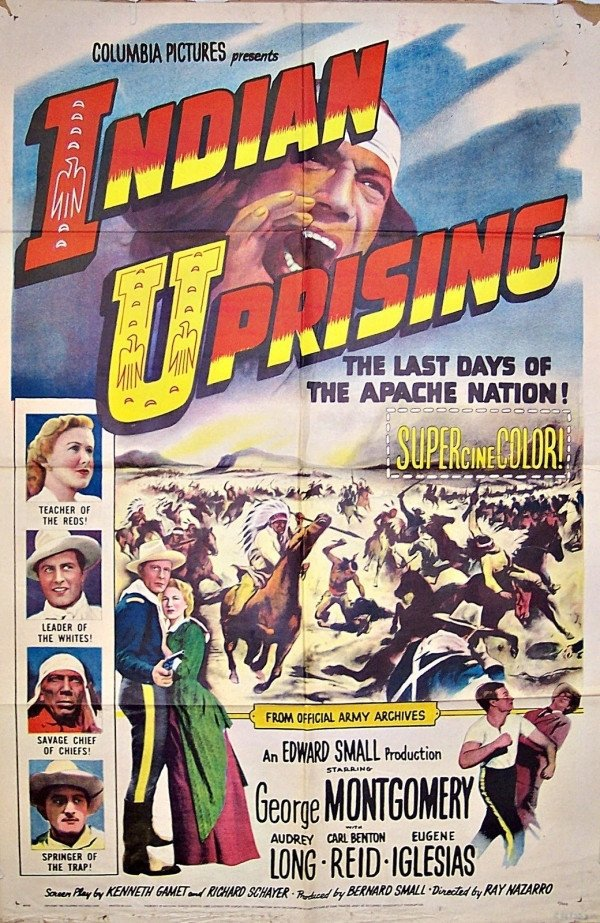 Indian Uprising (1952) - George Montgomery DVD