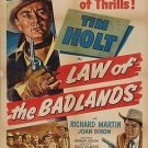 Law Of The Badlands (1951) - Tim Holt DVD