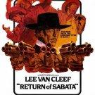 Return Of Sabata (1971) - Lee Van Cleef DVD