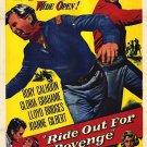 Ride Out For Revenge (1957) - Rory Calhoun DVD