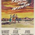 Saddle The Wind (1958) - Robert Taylor DVD