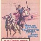 The Appaloosa (1966) - Marlon Brando DVD