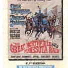 The Great Northfield Minnesota Raid (1972) - Robert Duvall DVD