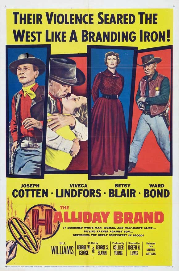 The Halliday Brand (1957) - Joseph Cotten DVD