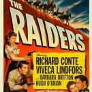 The Raiders (1952) - Richard Conte DVD