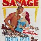 The Savage (1952) - Charlton Heston DVD