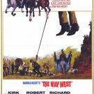The Way West (1967) - Richard Widmark DVD