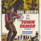 Town Tamer (1965) - Dana Andrews DVD