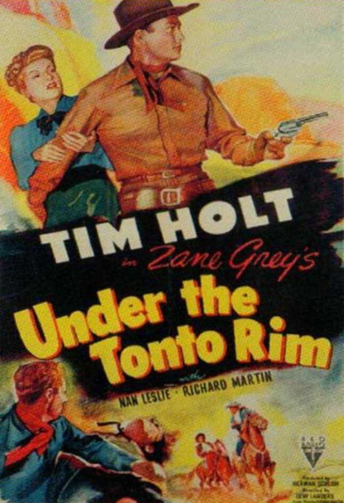 Under The Tonto Rim (1947) - Tim Holt DVD