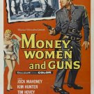 Money, Women And Guns (1958) - Jock Mahoney  DVD
