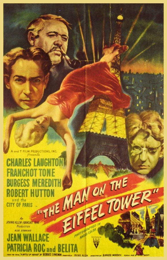 The Man On The Eiffel Tower (1949) - Charles Laughton DVD