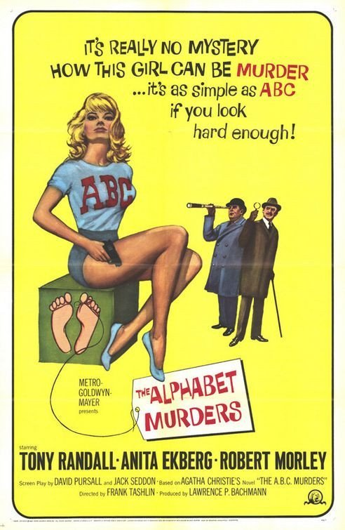 The Alphabet Murders (1965) - Tony Randall DVD