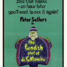 The Fiendish Plot Of Fu Man Chu (1980) - Peter Sellers DVD