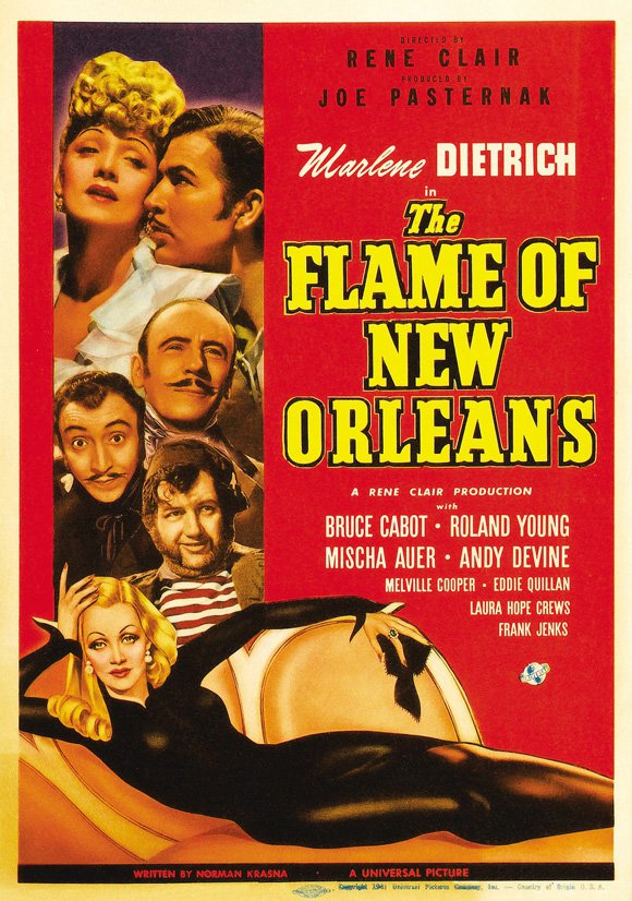 The Flame Of New Orleans (1941) - Marlene Dietrich DVD