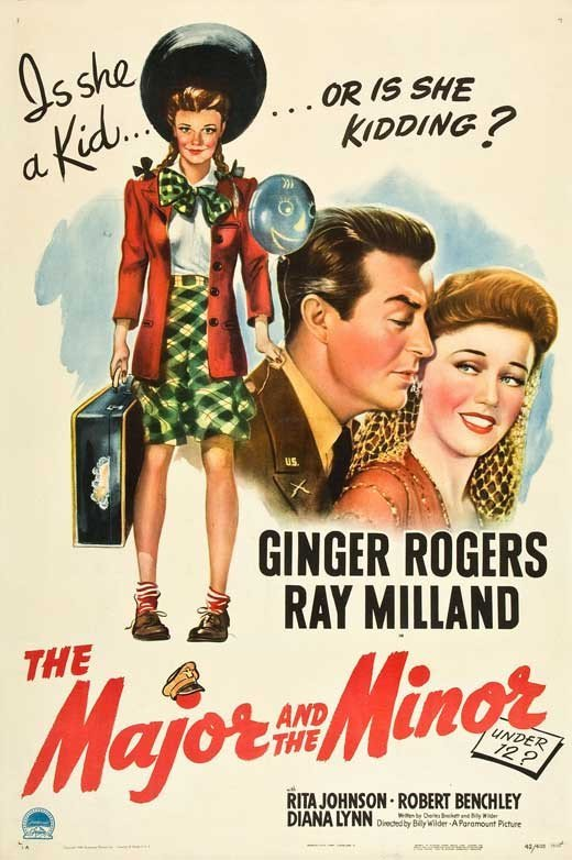 The Major And The Minor (1942) - Ginger Rogers DVD