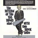 The Return Of The Tall Blond Man With One Black Shoe (1974) - Pierre Richard DVD
