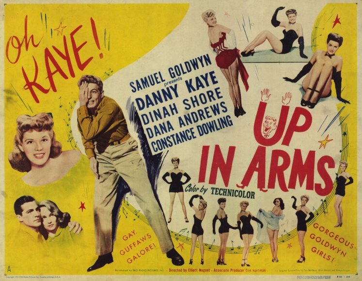Up In Arms (1944) - Danny Kaye DVD