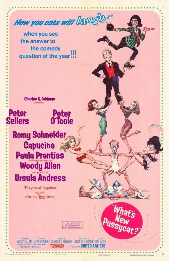 What´s New Pussycat (1965) - Woody Allen DVD