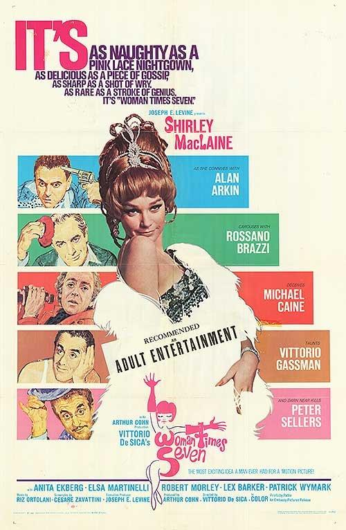Woman Times Seven (1967) - Lex Barker DVD