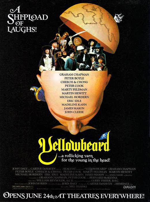 Yellowbeard (1983) - Graham Chapman DVD