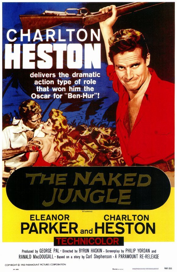 Naked Jungle (1954) - Charlton Heston DVD